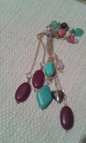 oferta pendulos artesanlaes variedad de colores