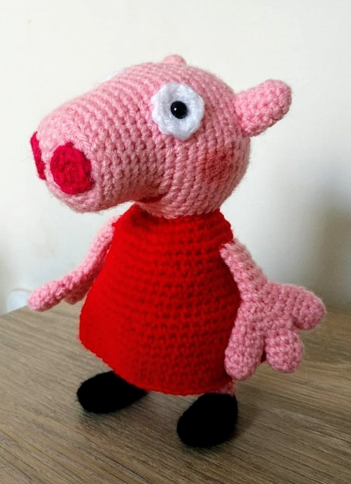 Peppa Pig - free crochet pattern - Amigurumi Today   958x694
