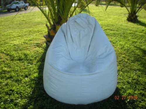 ¡oferta! pera pouf gigante - relleno de perlas