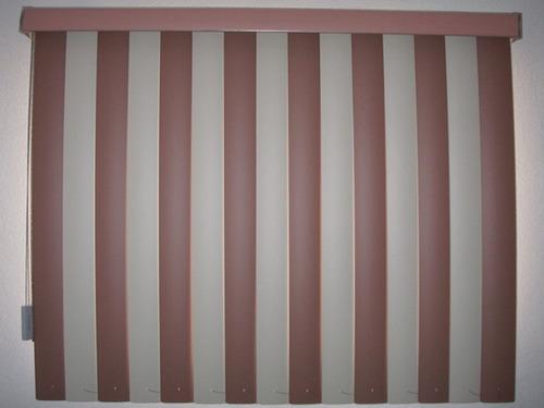 oferta  persianas verticales de pvc 8 colores $ 199 m2 06