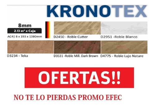 oferta piso flotante kronotex dynamic 8mm ac4 +manta+zócalo