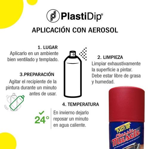 oferta plastidip x 2 aerosoles negros tunning llantas autos