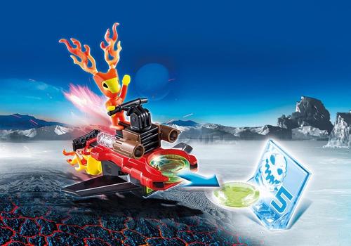 oferta playmobil 6834 -extraterrestre alien fuego con nave