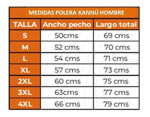 oferta polera hombre outdoor kannú talla grande 2xl 3xl
