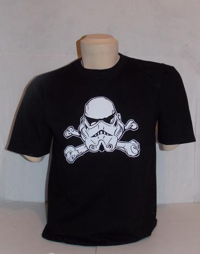 oferta polo star wars - modelo stormtrooper pirata talla m