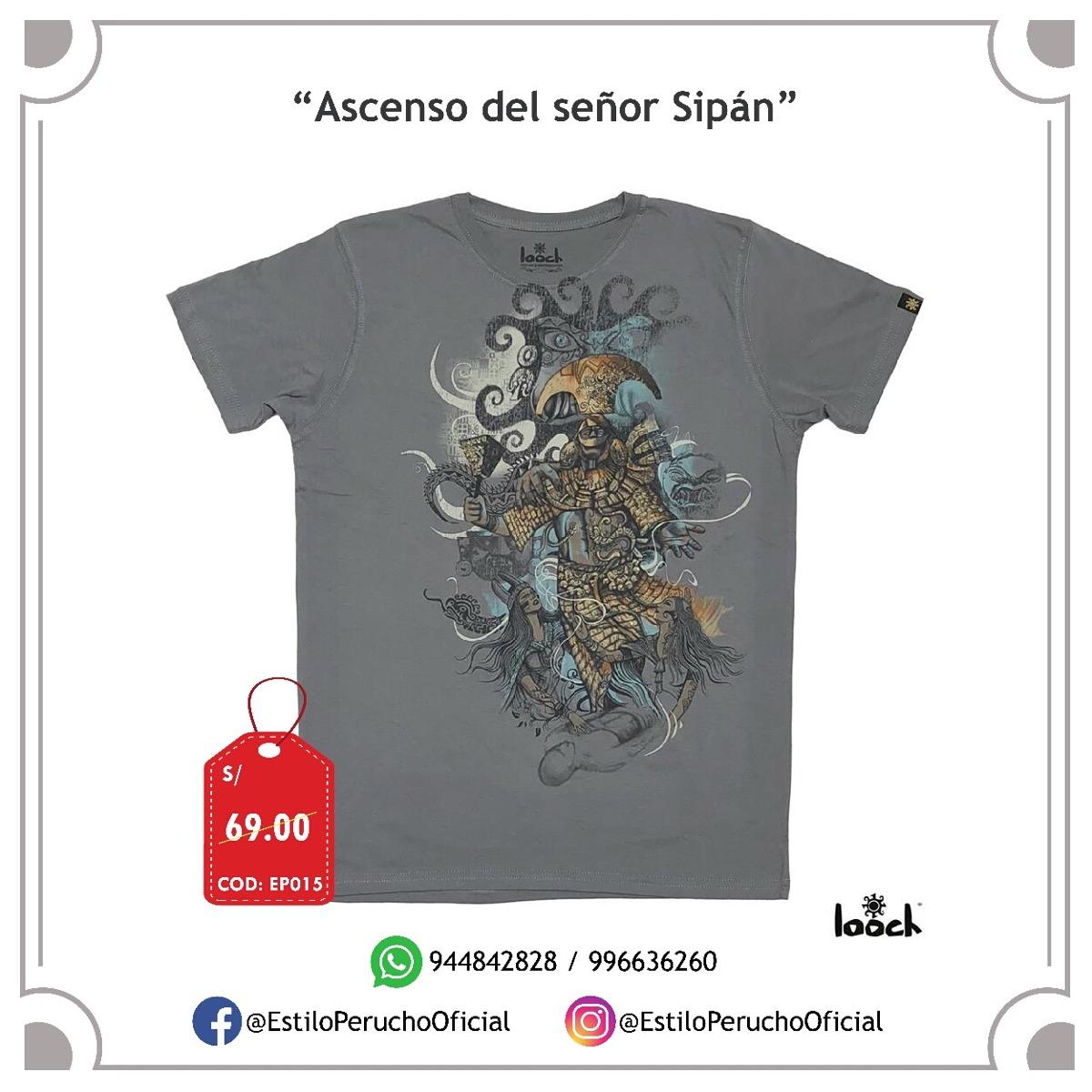 31aa3c2735480 oferta polos looch 100% algodon diseños peruanos. Cargando zoom.