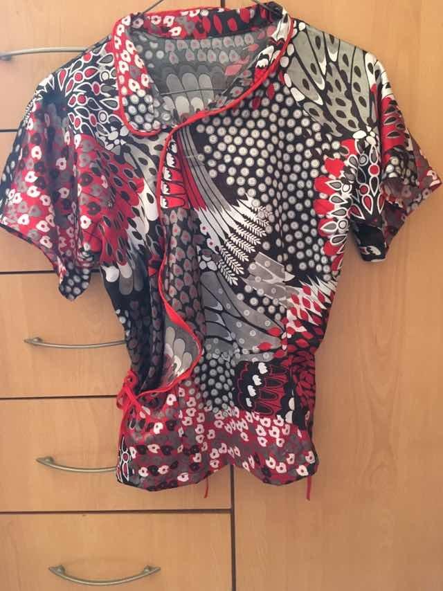 20e8aac507d3 oferta por hoy camisa tipo china para dama talla s. Cargando zoom.