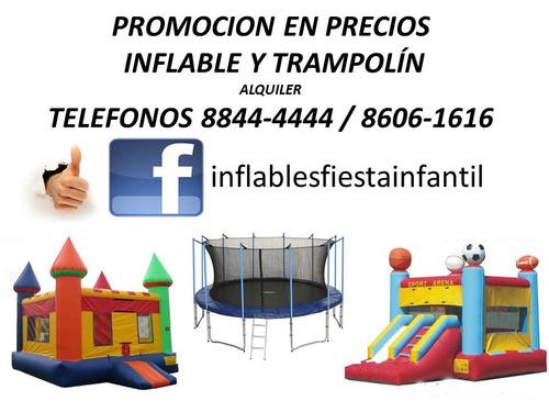 oferta precios inflables trampolin brinca fiesta infantil