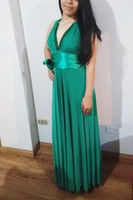 Oferta Precioso Vestido Verde Jade Tall