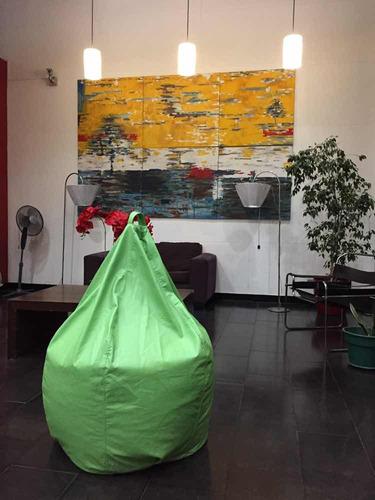 oferta!!! puff pera xl despacho gratis solo en santiago