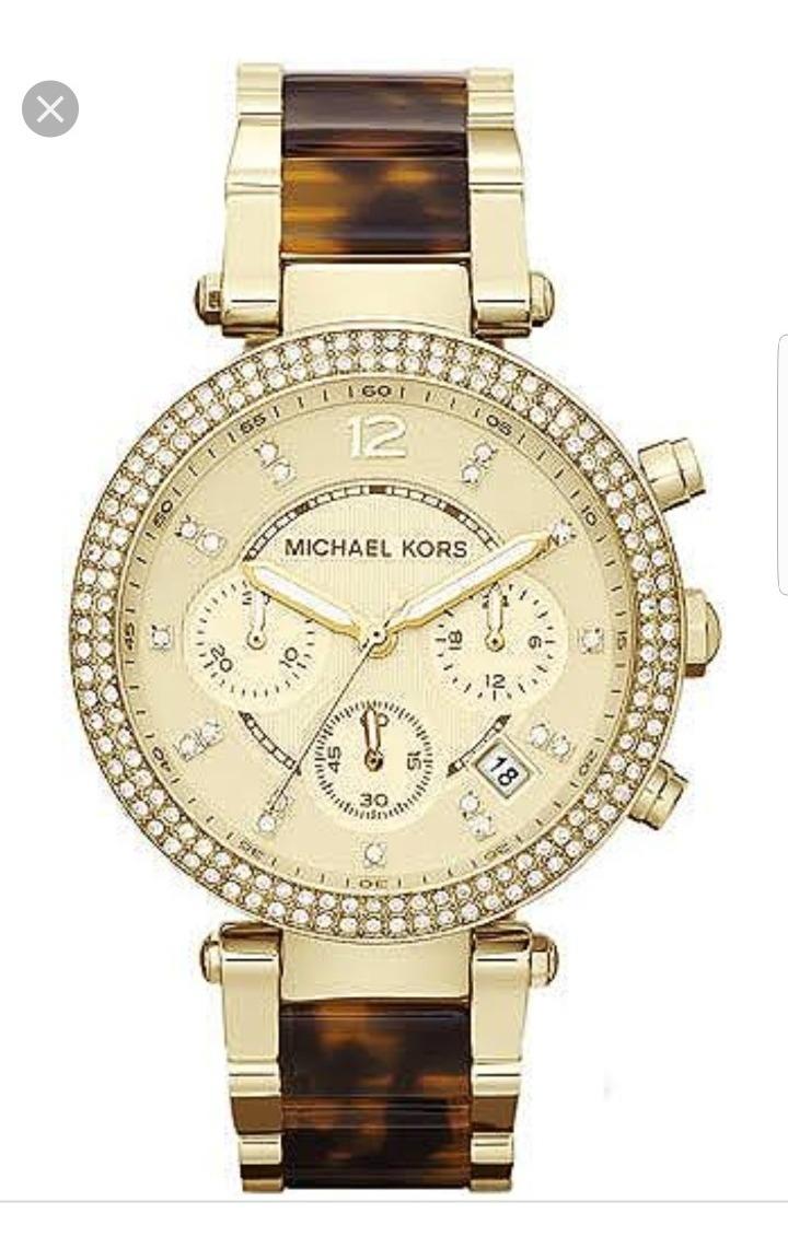 Stock Parker Kors En Mk5688 Michael Original Reloj Oferta Aqjc34R5L
