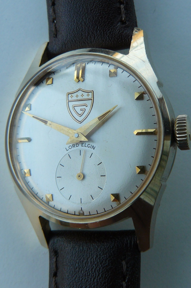 5739d4ad4d1c Oferta Reloj Oro Solido 14k Lord Elgin 23 Rubis Año 60 -   579.000 ...