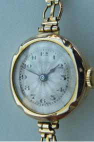 Rolex Oro 1954 Reloj Oferta 15 Antiguo Suizo Solido Rubis qzVSUMp