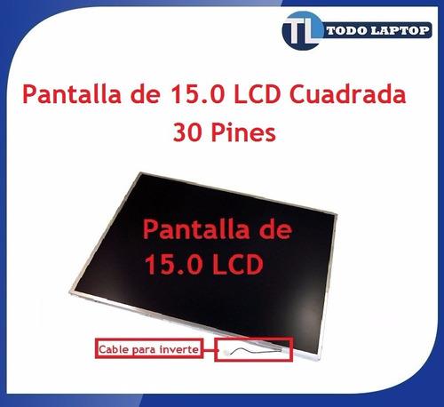oferta remate pantalla de 15.0 cuadradas 30 pines lcd