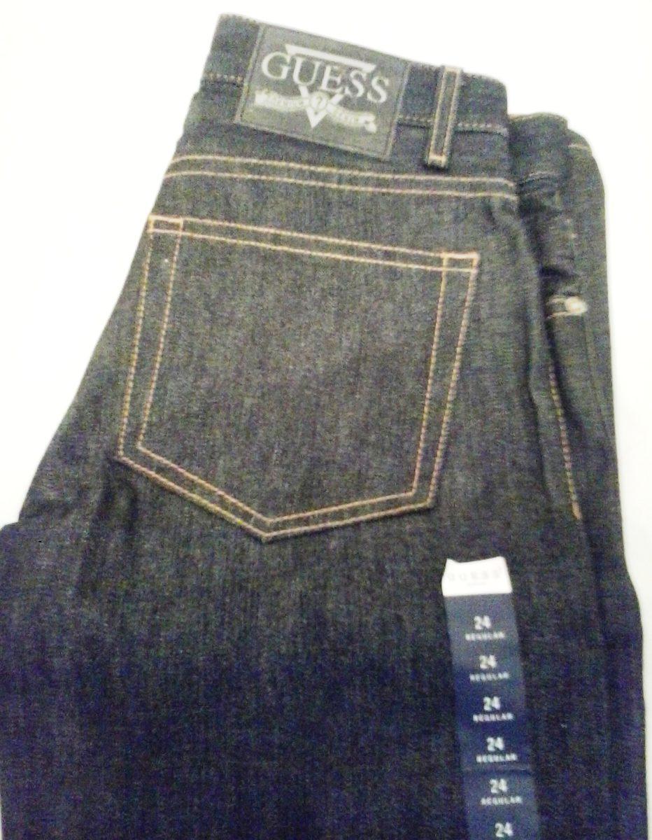 Oferta Remate Pantalones Jeans Guess Azul Oscuro Bota Recta Bs 20 000 00 En Mercado Libre