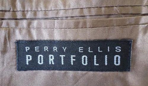 oferta!!! saco perry ellis portfolio t/ 48c 100% original
