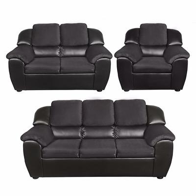 oferta sala mobiliari madrid 3-2-1 ultracuero. envio gratis