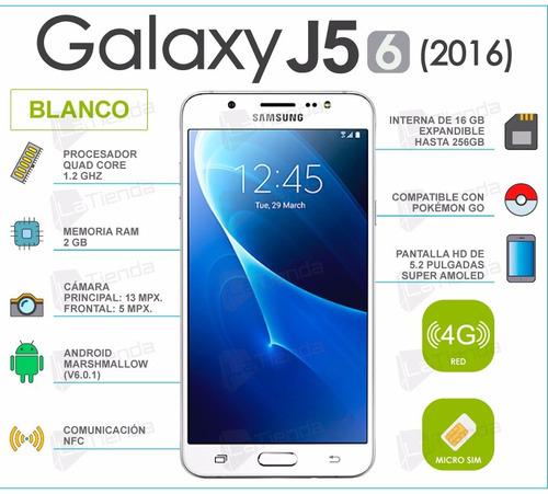 oferta samsung galaxy j5 6 (2016) 4g ram2gb nuevo
