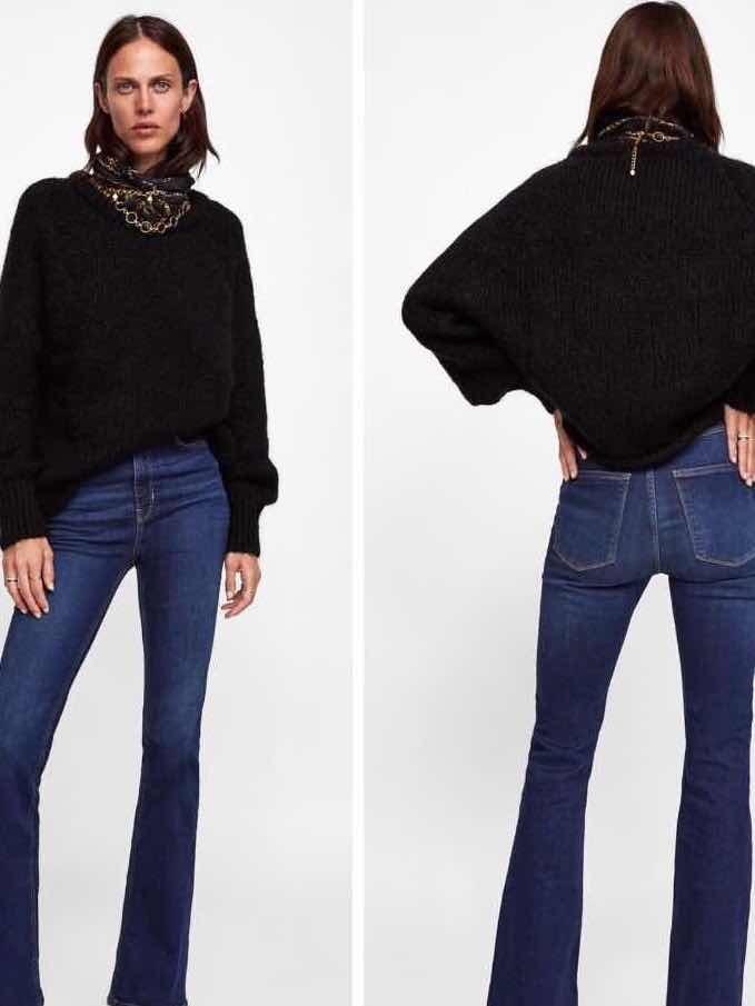 df3b252b7c Acampanados Mujer Valentin Zara Zoom Skinny Oferta Jeans San Cargando  tYwSqnP
