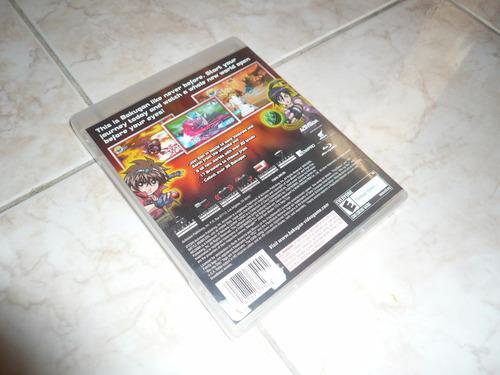 oferta, se vende bakugan battle brawlers ps3