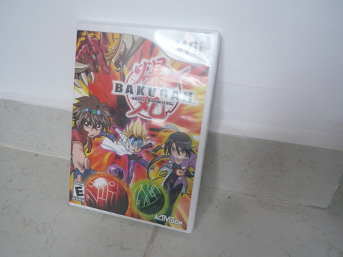 oferta, se vende bakugan battle brawlers wii