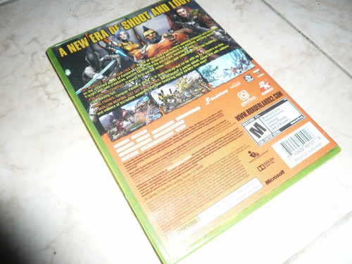 oferta, se vende borderlands 2 xbox 360