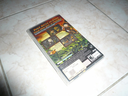 oferta, se vende indiana jones the original adventures psp