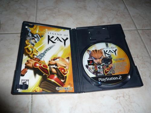 oferta, se vende legend of kay ps2