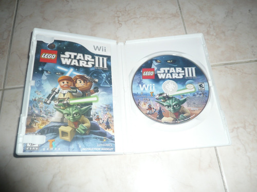 oferta, se vende lego star wars iii the clone wars wii
