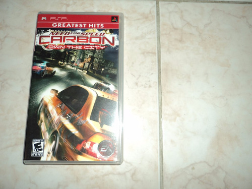 oferta, se vende need for speed carbon own the city psp