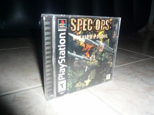 oferta, se vende spec ops: stealth patrol ps1