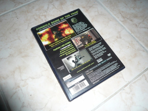 oferta, se vende splinter cell stealth action redefined ps2