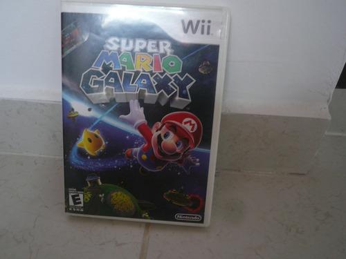 oferta, se vende super mario galaxy wii