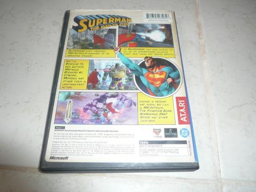 oferta, se vende superman the man of steel xbox clásico