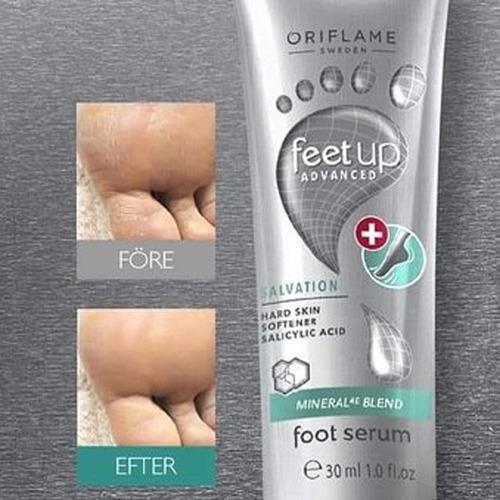 oferta sérum anti-cayos para pies feet up advanced oriflame