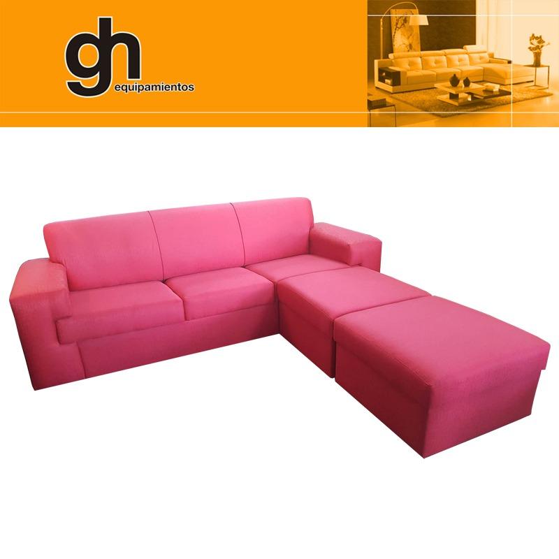 oferta sofa de 3 cuerpos esquinero minimalista 2 islas