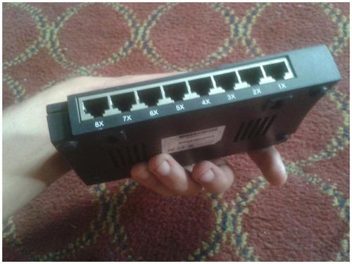 oferta switch de 8 puertos marca nexxt solutions 10/100 mbps