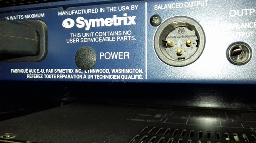 oferta!. symetrix 528e voice processor -  made in usa