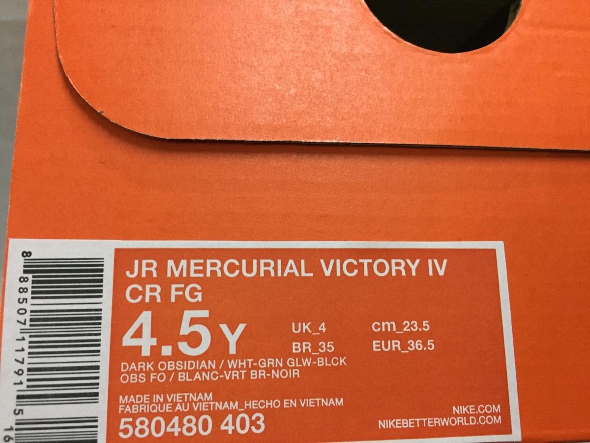 b0a312e84bcaa oferta tacos nike mercurial victory cr7 100%original de niño. Cargando zoom.