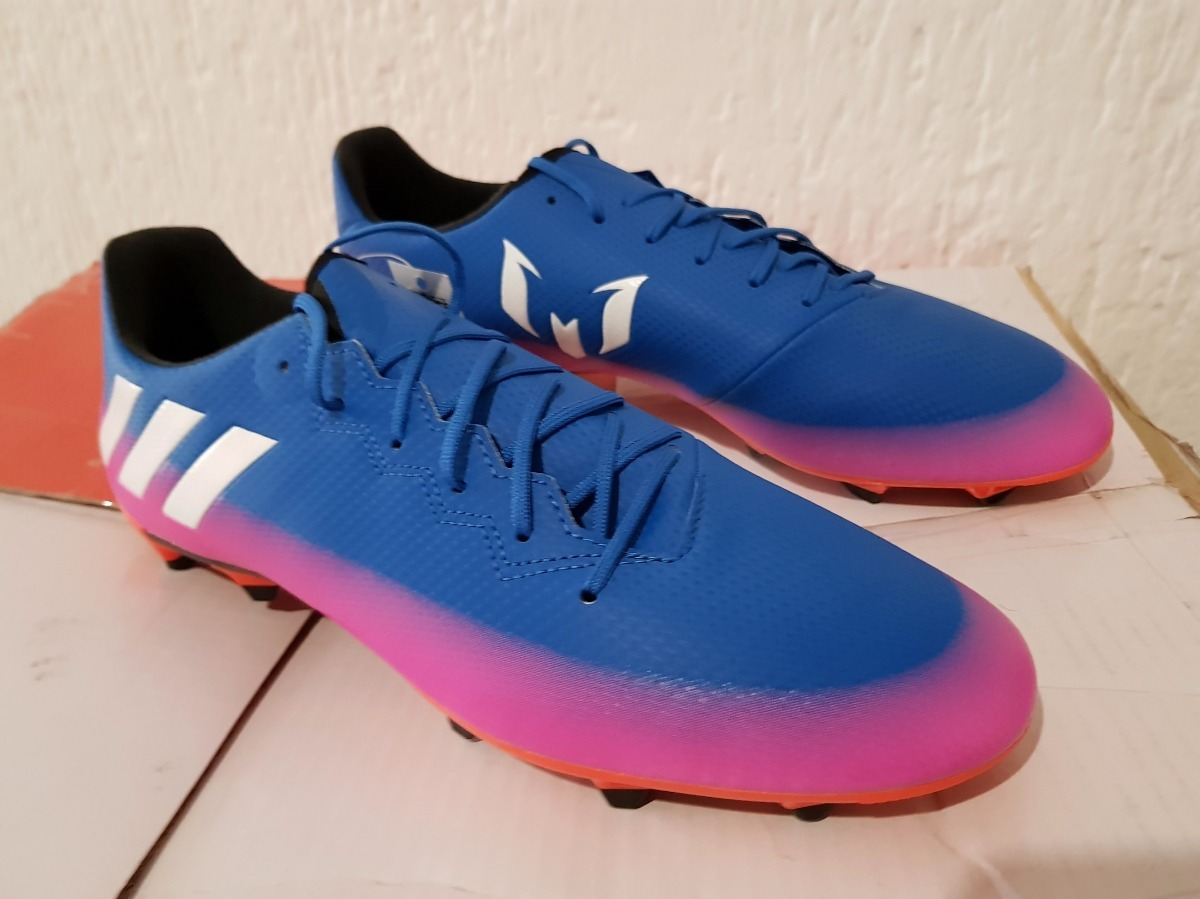 6f3320c80b0d2 oferta taquetes futbol adidas messi 16.3 fg nuevos sh+. 5 Fotos