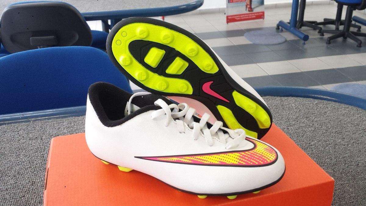 Oferta Taquetes Futbol Nike Mercurial Fg Jr Nuevos Sh+ -   650.00 en ... bfbed341b2889