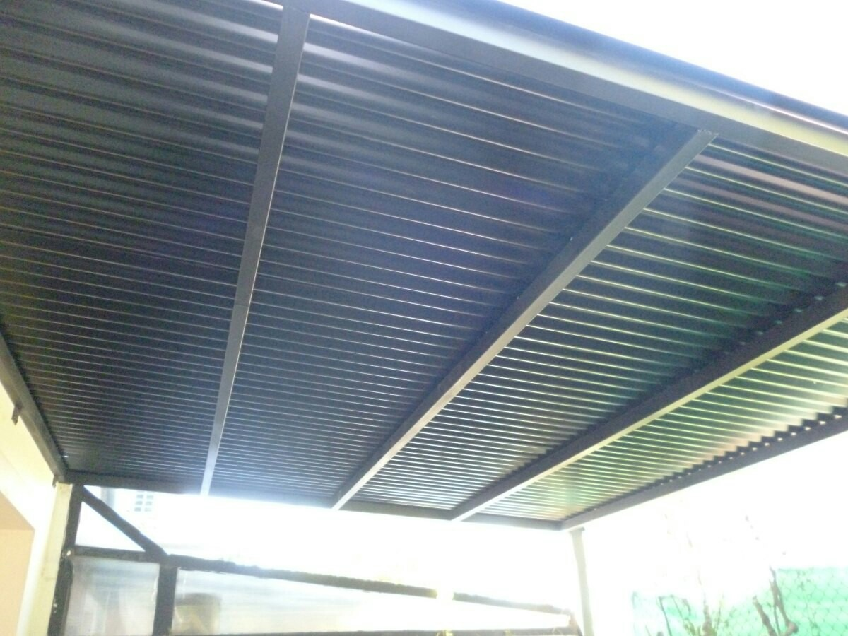En la terraza trabajamos para una pelicula traviesa - 1 part 3