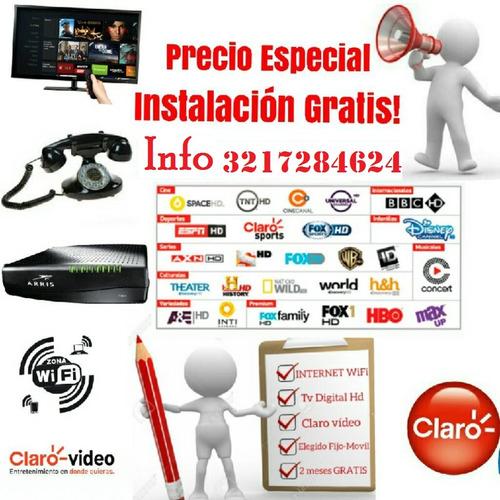 oferta television internet telefonia