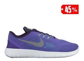 NIKE FREE RUN GRISES: Zapatillas Running Nike Mujer 904258 001 Mejor Precio