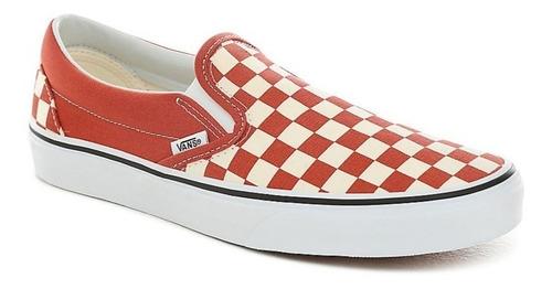 oferta tenis vans classic slip on checkerboard
