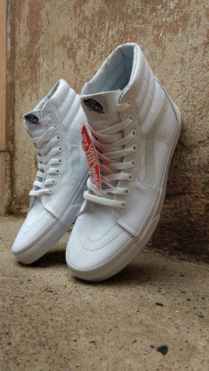 466c56354ba68 oferta  Tenis Vans Old Skool Sk8 Hi Bota Blanco Total -   999.00 en ...