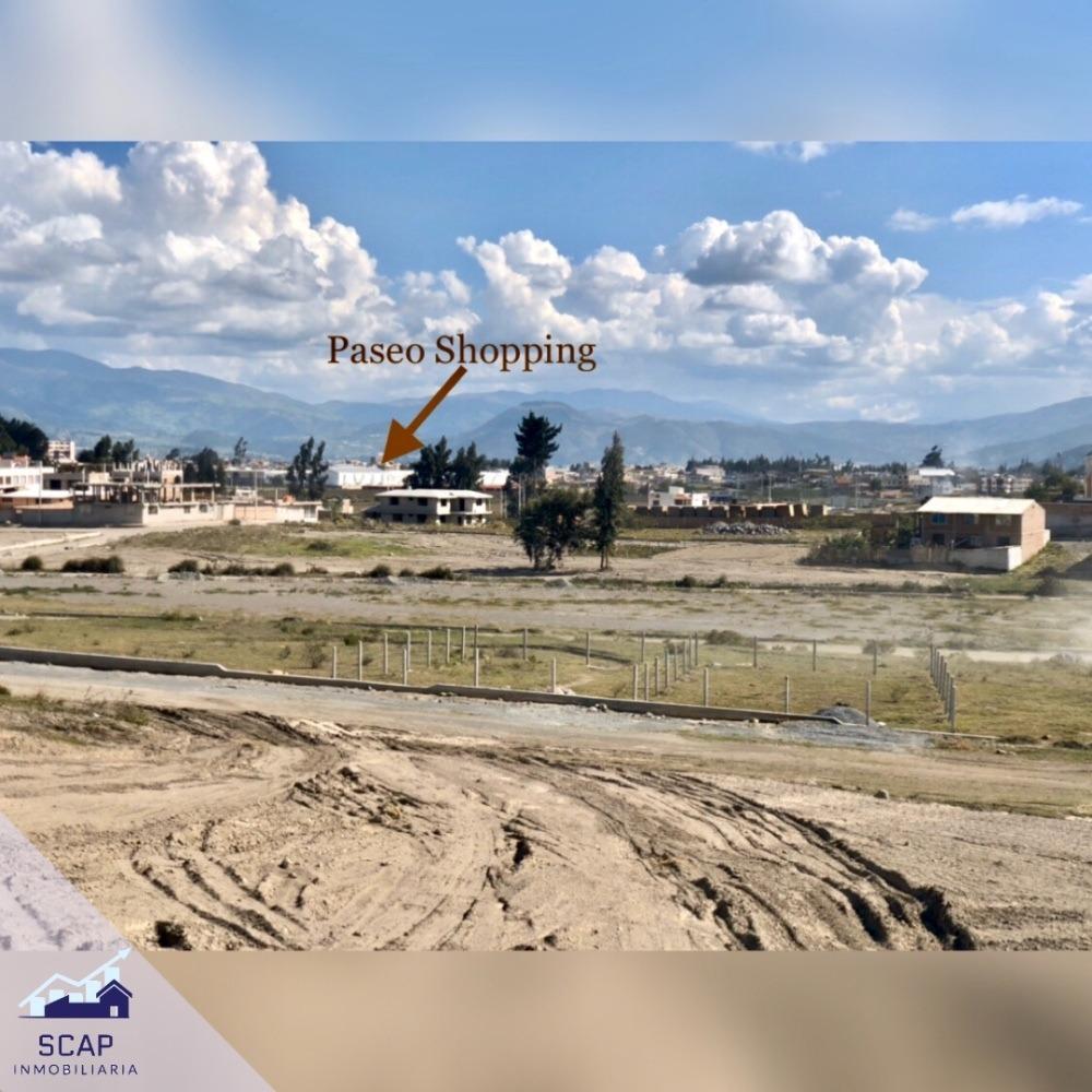 oferta terrenos a 2 minutos de paseo shopping riobamba