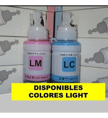 oferta tinta formulada l380 l210 l220 l355 l365 l120 x 70ml