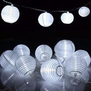 oferta tira-guirnalda luces 8.5 led blanco frio+30 farolitos