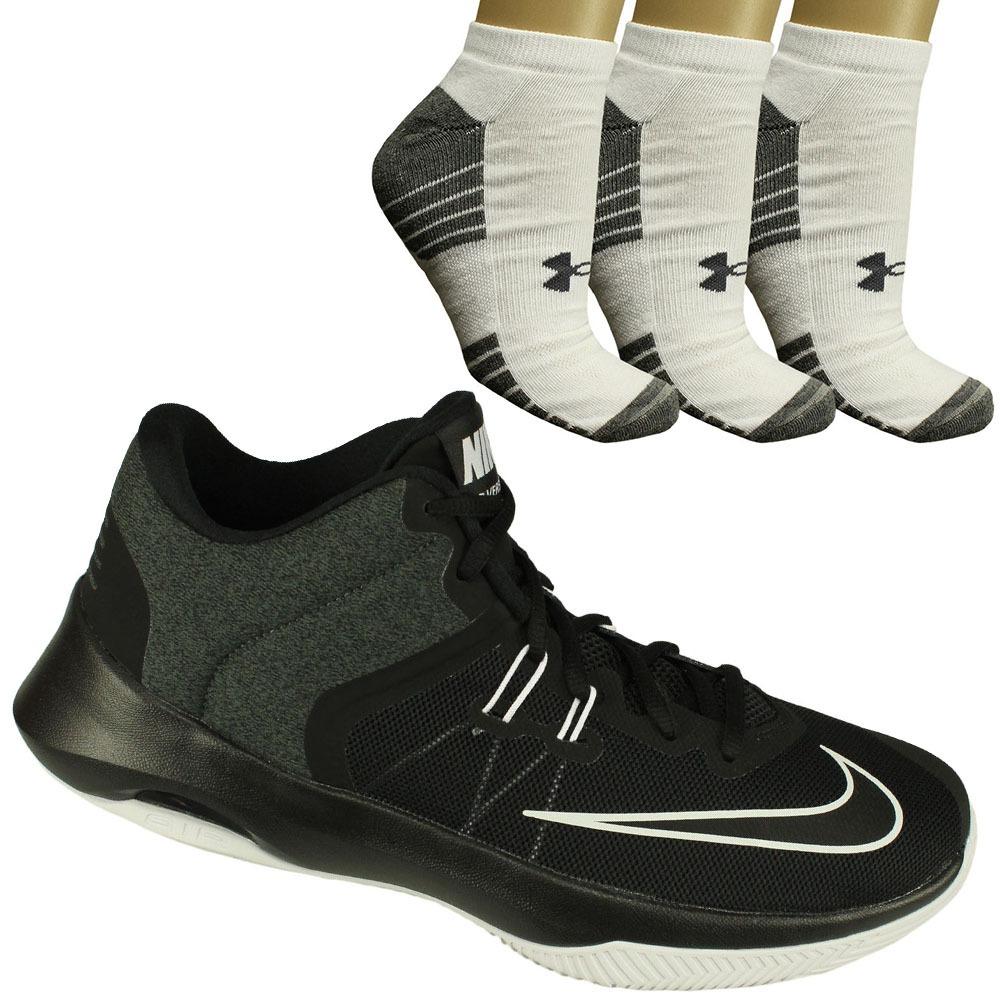 on sale 58b0f 17730 oferta tênis nike air masculino+ 3 meias under armour c/ nfe. Carregando  zoom.